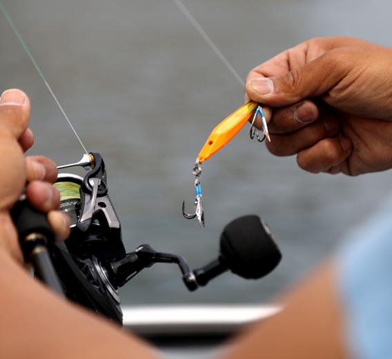 釣り方のコツ